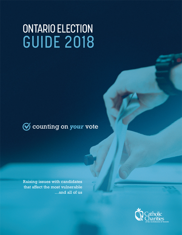 Ontario Election Guide 2018 - counting on your vote