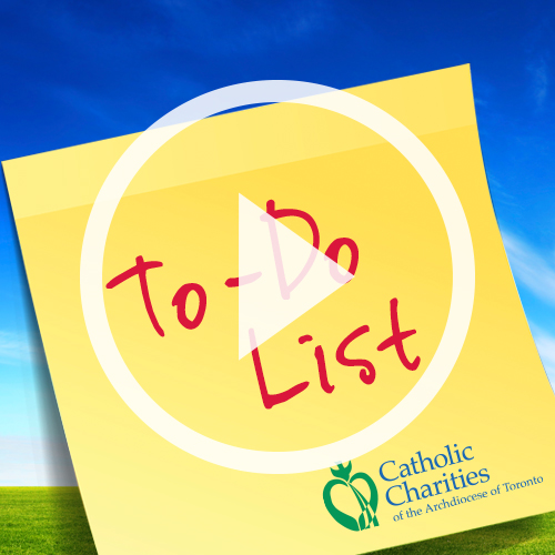 "Your ""To Do List"""
