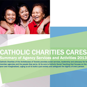 Catholic Charities Cares 2013