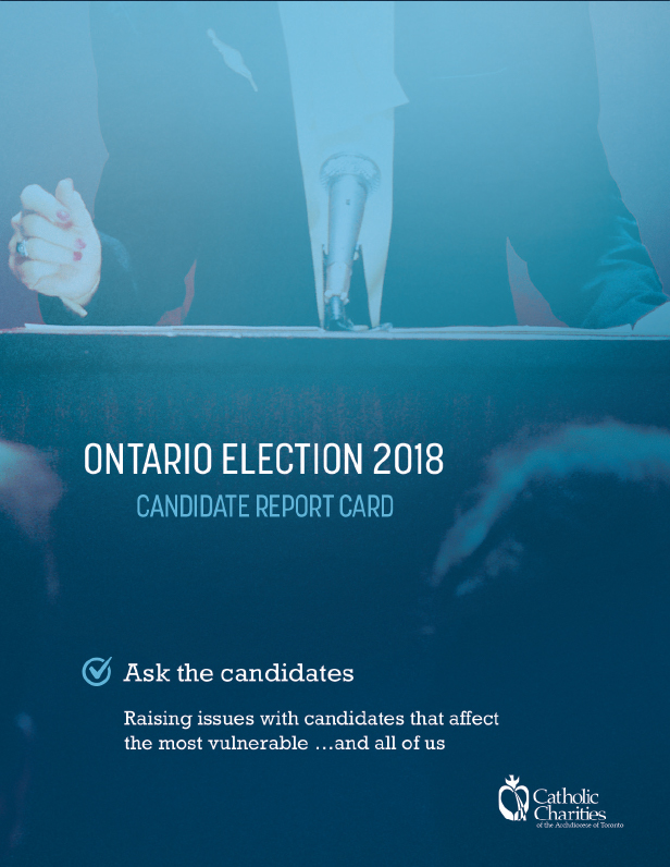 Ontario Election 2018 candidate report card - ask the candidates